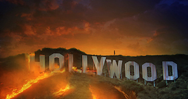 Hollywood-on-Fire